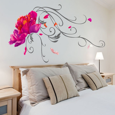 Lotus Flower wall sticker