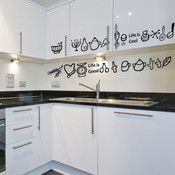 Kitchen Utensils Wall Sticker