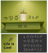 Kitchen Tools Wall Stickers
