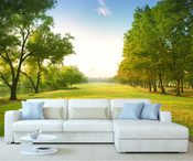 Countryside Forest Wall Mural