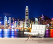 Hong Kong Skyline Wall Mural