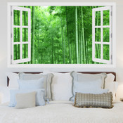 Bamboo Forest 3D Wall Sticker 5301-1015