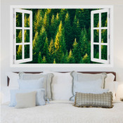 Evergreen Forest 3D Wall Sticker 5301-1017