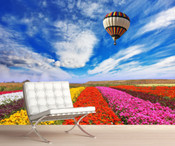 Colourful Tulips Wall Mural