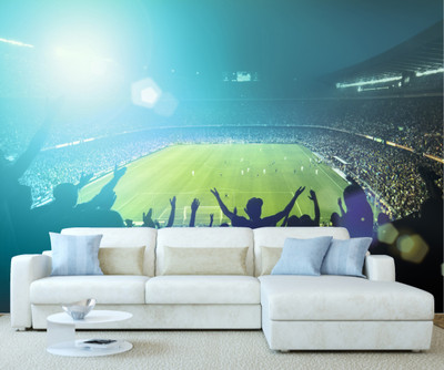 ... Fans Football Stadium Wall Mural. Image 1 Part 96
