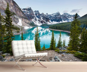 The Rocky Mountains Lakeside Wall Mural