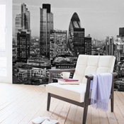 London City Night View Wall Mural