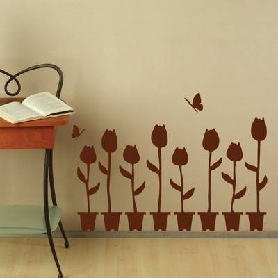 plant wall sticker