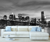 New York Brooklyn Bridge Wall Mural 8999-1049
