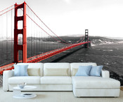 San Franciso Golden Gate Bridge Wall Mural 8999-1054