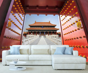 Beijing Forbidden City Wall Mural 8999-1056