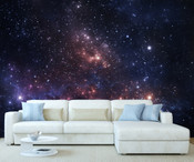 Space Galaxy Wall Mural 2