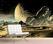 Space Planet Moon Wall Mural 8999-1067