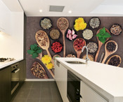 Food Ingredient Wall Mural
