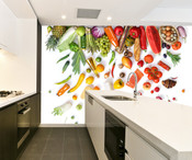 Fruit and Vegetable Wall Mural 4