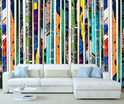 Comic Strip Wall Mural