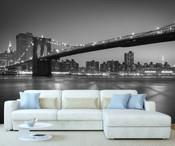 New York Brooklyn Bridge Wall Mural 2
