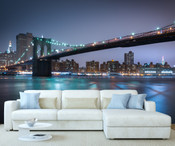 New York Brooklyn Bridge Wall Mural 8999-1137