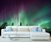 Aurora Northern Light Wall Mural