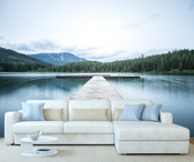 Mountain Lake Wall Mural 8999-1149