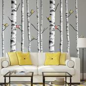 Bird Tree Wall Stickers 9118