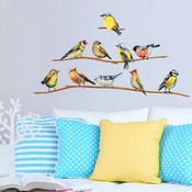 Flock of Birds Wall Stickers 9121