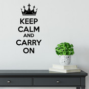 Keep Calm And Carry On - 2081