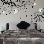 Lily flower wall sticker