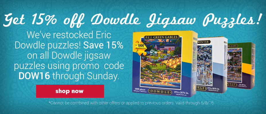 Save on Eric Dowdle Jigsaw Puzzles