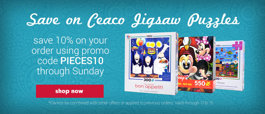 Save on Ceaco Puzzles