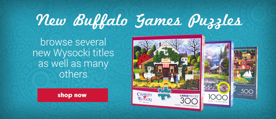 Save on Buffalo Games Puzzles