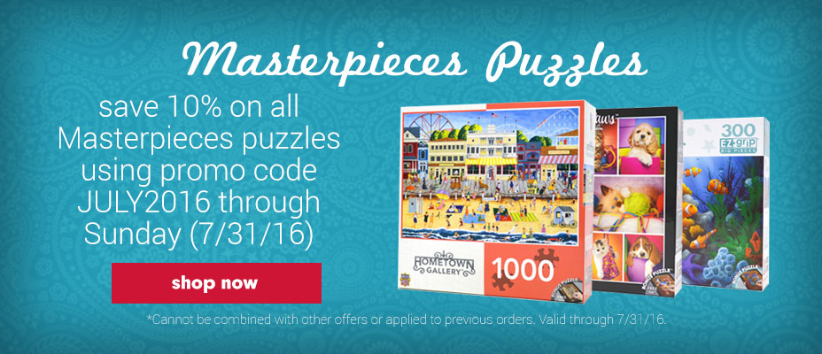 Shop Jigsaw Puzzles from Masterpieces