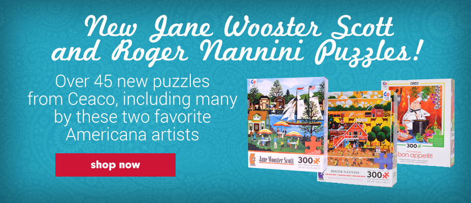 New Jane Wooster Scott and Roger Nannini Puzzles