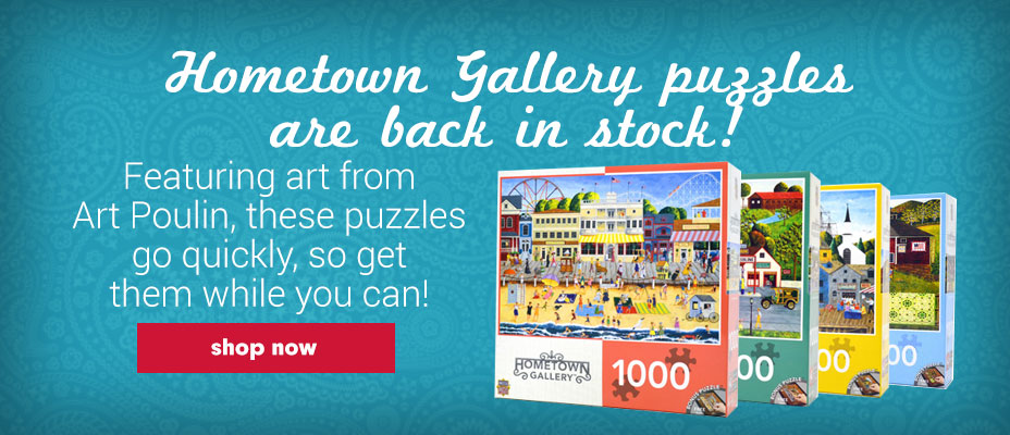Hometown Gallery Jigsaw Puzzles