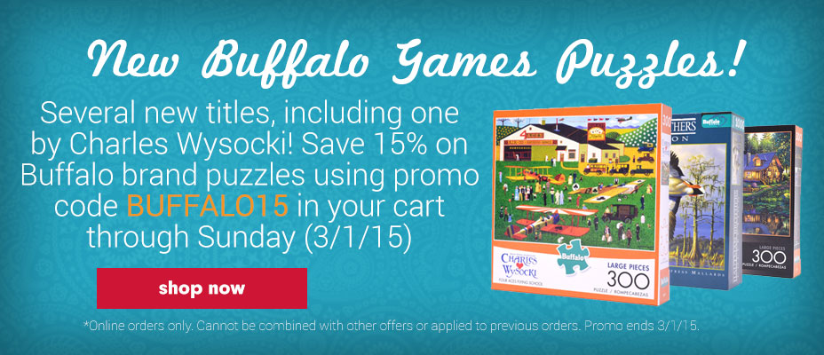 New Buffalo Games Puzzles