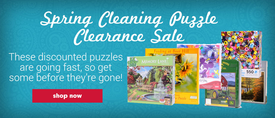 Jigsaw Puzzle Clearance Sale