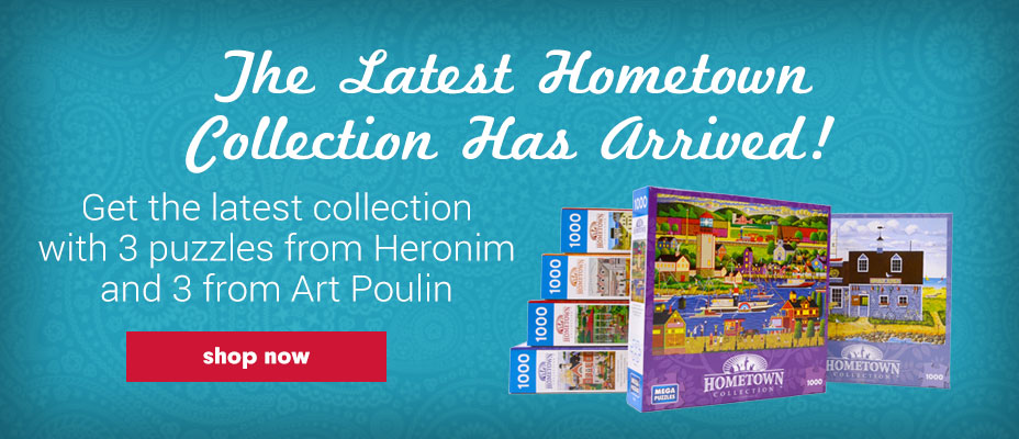 Hometown Collection Jigsaw Puzzle