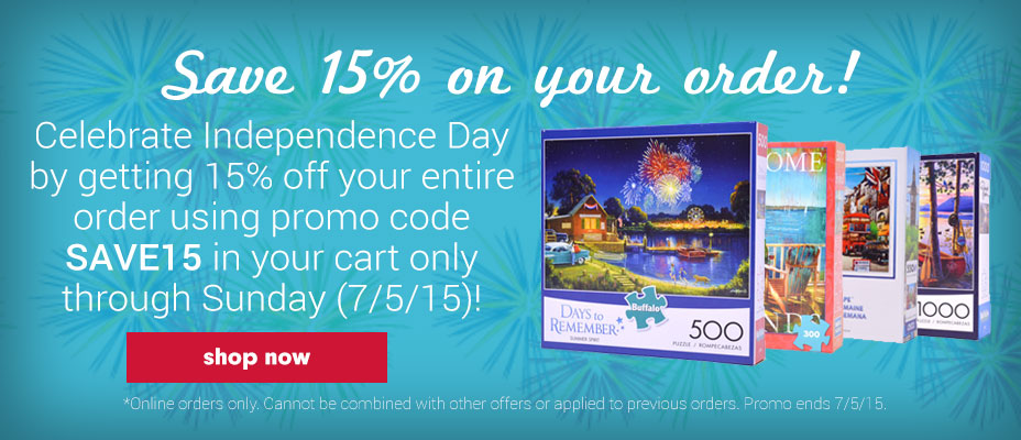 Independence Day Jigsaw Puzzle Sale