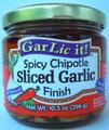 GarLic it! Spicy Chipotle Sliced Garlic