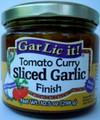 GarLic it! Tomato Curry Sliced Garlic