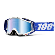 100% Racecraft Goggles Cobalt Blue (Mirrored)