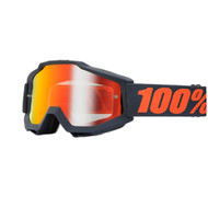 100% Accuri Goggles Gunmetal (Mirrored)