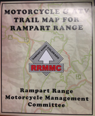 Rampart Range Trail Map