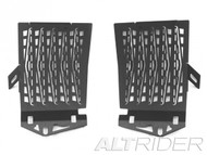 Altrider Radiator Guard Water-Cooled BMW R1200GS Black
