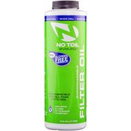 No Toil Alcohol Free Foam Air Filter Oil