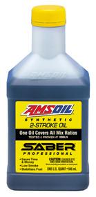 Amsoil Saber 2-Stroke Premix Oil