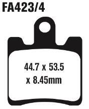 EBC FA423/4HH Brake Pads