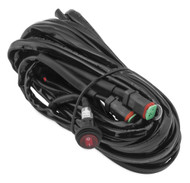 Quadboss LED Wiring Harness for Two Lights