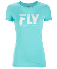 Fly Logo Fade Womens T-shirt