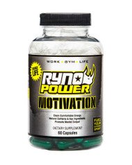 Ryno Power Motivation Capsules 60